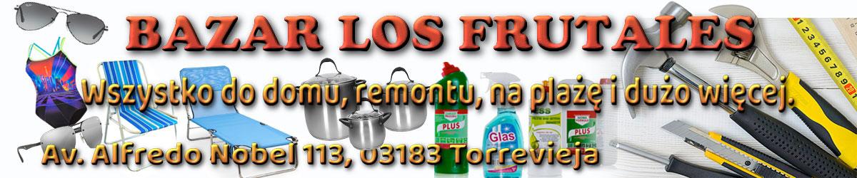 Reklama baner środek Bazar Los Frutales